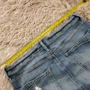 Express Skirts - Distressed Express jean skirt size 10